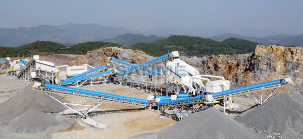 Aggregates Production Line for Lafarge