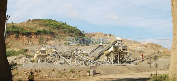 Holcim Andesite Production Line