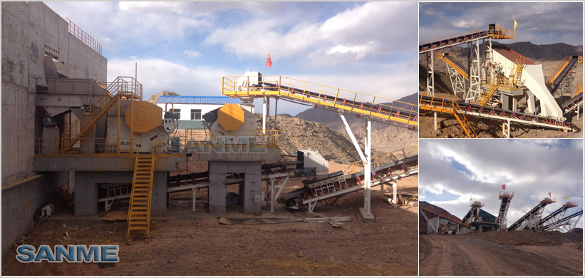 500t/h limestone crushing production line in Qinghai