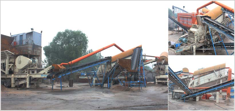 200TPH Portable Crushing Project