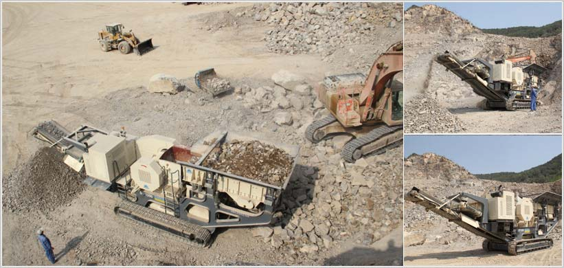 150TPH Mobile Crushing Plants in Shanxi